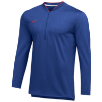 Nike Team Authentic 1/2 Zip Coaches Top - Men's - Blue / Red