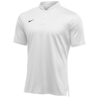 Nike Team Authentic Dry Elite S/S Polo - Men's - White / Purple