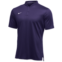 Nike Team Authentic Dry Elite S/S Polo - Men's - Purple / White