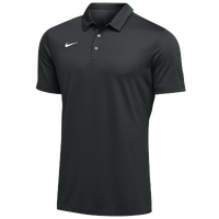 Nike Team S/S Polo - Men's - Black / White