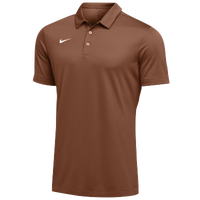 Nike Team S/S Polo - Men's - Orange / White