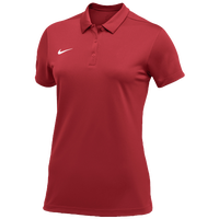 Nike Team S/S Polo - Women's - Red / White
