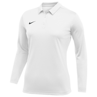 Nike Team L/S Polo - Women's - White