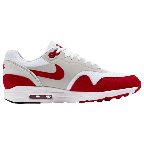 Nike Air Max 1 Ultra 2.0 LE - Women's Casual - White/University Red/Neutral Grey/Black 08489101