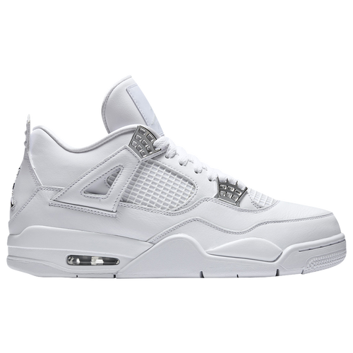 Jordan Retro 4 - Men\u0027s - White / Silver
