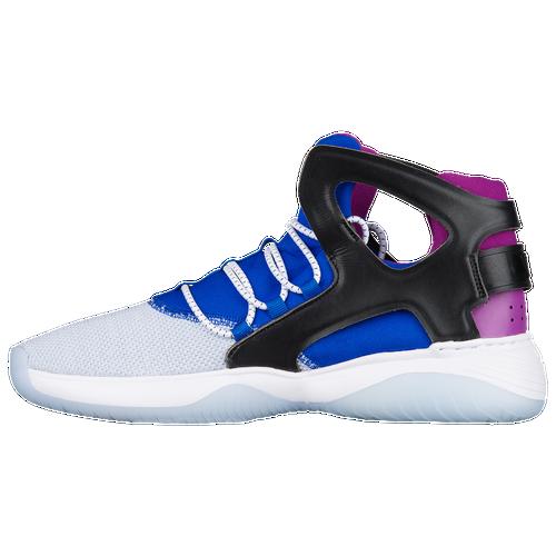 check out 3fba5 5cb62 ... spain nike air flight huarache ultra mens casual shoes white black lyon  blue bold berry 7a29a