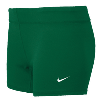"Nike Perf 3.75"" Game Shorts - Women's - Dark Green / Dark Green"