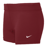 "Nike Perf 3.75"" Game Shorts - Women's - Maroon / Maroon"