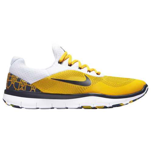 Nike Free Trainer V7 - Men's - Training - Shoes - Michigan Wolverines -  College Navy/Amarillo Yellow