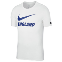 Nike Swoosh T-Shirt - Men's - England - White / Blue