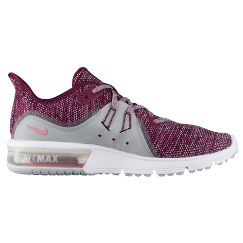 Nike Air Max Sequent 3 - Women's - Running - Shoes - Bordeaux/Elemental  Pink/Wolf Grey