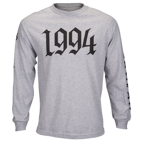 Fairplay 1994 L/S T-Shirt - Men's Casual - Heather Grey/Black 09009HGY