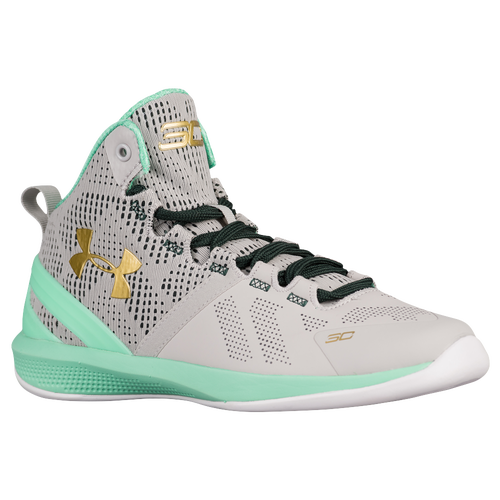 Under Armour Curry 2 - Boys' Preschool - Basketball - Shoes -  Aluminum/Antifreeze/Met Gold