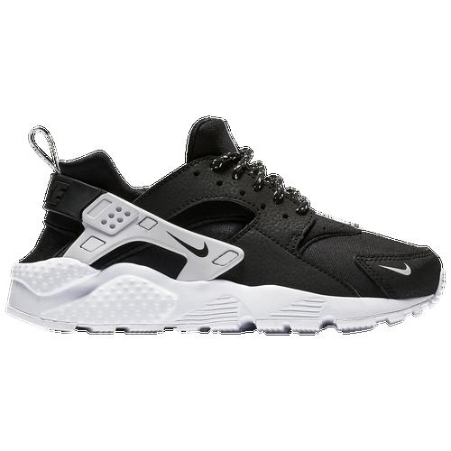 Nike Huarache Run Boys Grade School Casual Shoes Black