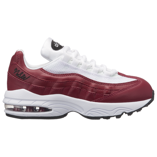 Nike Air Max 95 - Girls Preschool - Casual - Shoes - Red CrushRed  CrushWhiteBlack