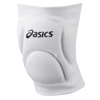 ASICS® Ace Low Profile Kneepads - All White / White