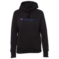 Champion Graphic Fleece Pullover Hoodie - Women's - Black / White