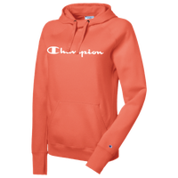 Champion Graphic Fleece Pullover Hoodie - Women's - Orange