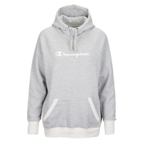 Champion Graphic Fleece Pullover Hoodie - Women's - Grey / Off-White