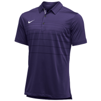 Nike Team Early Season Polo - Men's - Purple / White