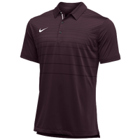 Nike Team Early Season Polo - Men's - Maroon / White