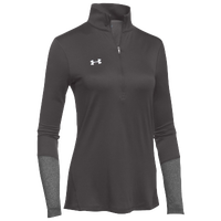 Under Armour Team Locker 1/2 Zip - Women's - Grey / Grey