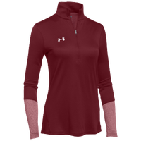 Under Armour Team Locker 1/2 Zip - Women's - Cardinal / Cardinal