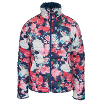 The North Face Reversible Mossbud Swirl Jacket - Girls' Grade School - Pink / Multicolor