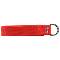"Athletic Specialties 1"" Web Football Belt - Red / Red"