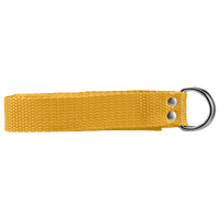 "Athletic Specialties 1"" Web Football Belt - Gold / Gold"