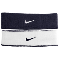 Nike Dri-Fit Home & Away Headband - Men's - Navy / White
