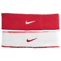 Nike Dri-Fit Home & Away Headband - Men's - Red / Red