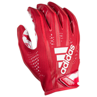 adidas adiZero 5-Star 7.0 Receiver Glove - Men's - Red / White