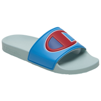 Champion IPO Colorblock Slide - Women's - Light Blue