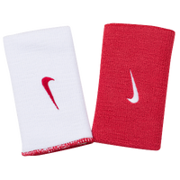 Nike Dri-FIT Home & Away Doublewide Wristbands - Men's - Red / White