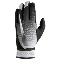 Nike Vapor Elite Batting Gloves - Men's - Black / Silver