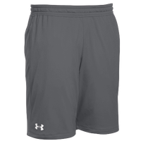 Under Armour Team Pocketed Raid Shorts - Men's - Grey / White
