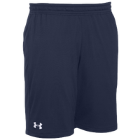 Under Armour Team Pocketed Raid Shorts - Men's - Navy / White