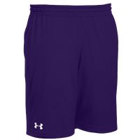 Under Armour Team Pocketed Raid Shorts - Men's - Purple / White