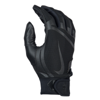 Nike Huarache Edge Batting Gloves - Men's - All Black / Black
