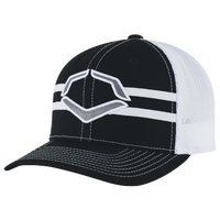 Evoshield Grandstand Flexfit Hat - Men's - Black / White