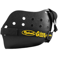 Markwort Glove Guard - Black / Yellow