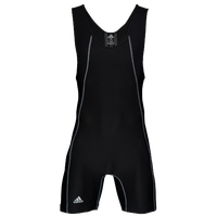 adidas Wide Side Panel Singlet - Men's - Black / Grey