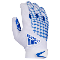 adidas adiFAST 2.0 Receiver Gloves - Men's - White / Blue
