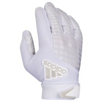 adidas adiFAST 2.0 Receiver Gloves - Men's - All White / White