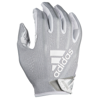 adidas Adizero 5-Star 7.0 Receiver Gloves - Boys' Grade School - Silver / White