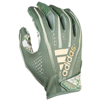 adidas Adizero 5-Star 7.0 Receiver Gloves - Boys' Grade School - Dark Green / Gold