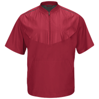 Majestic Training Jacket - Men's - Maroon / Maroon