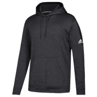 adidas Team Issue Fleece Pullover Hoodie - Men's - Black / White