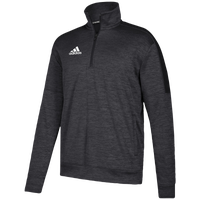 adidas Team Issue Fleece 1/4 Zip - Men's - Black / White